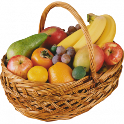 A Large Fruit Basket